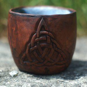 Triquetra symbol Viking mug