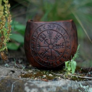 Viking compass mug